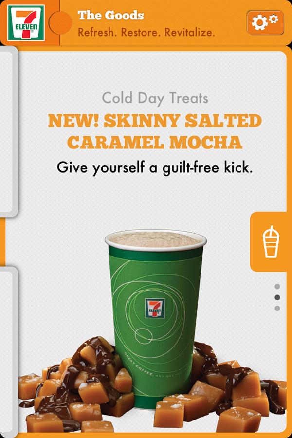 7-Eleven App - Caramel Mocha