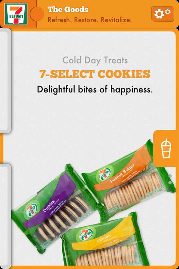 7-Eleven App - Cookies