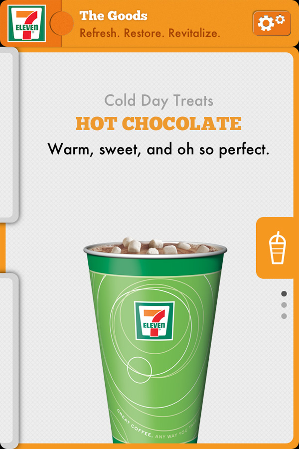7-Eleven App - Hot Chocolate