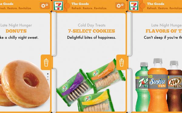 7-Eleven - App full of junk food