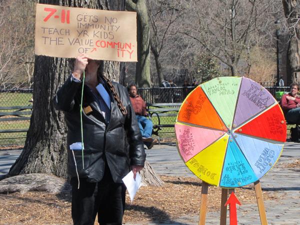 No 7-Eleven - Community Wheel of Fortune