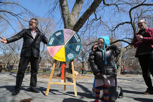 No 7-Eleven Rally in Tompkins Square park