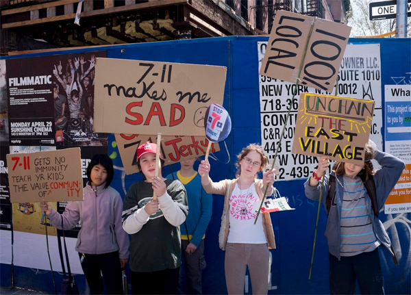 No 7-Eleven Rally - Photo by Steven Hirsch