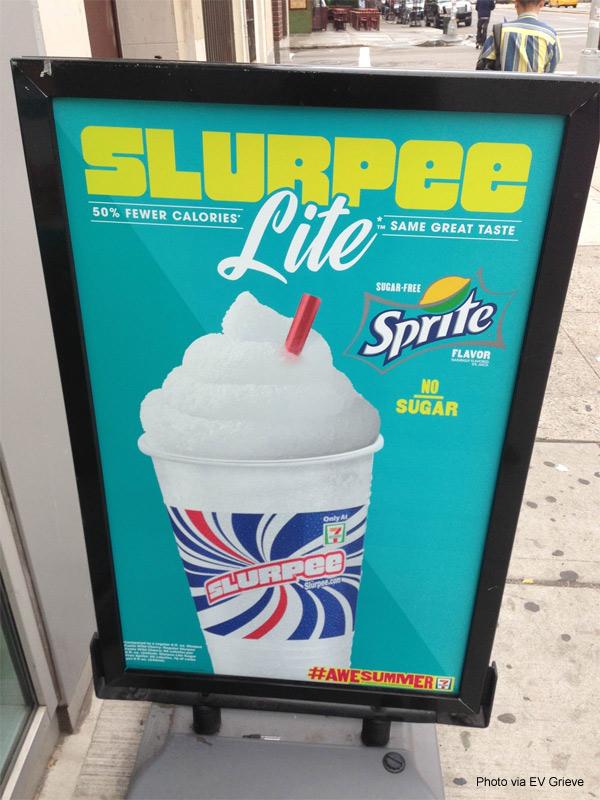 7-Eleven Bowery Slurpee Lite