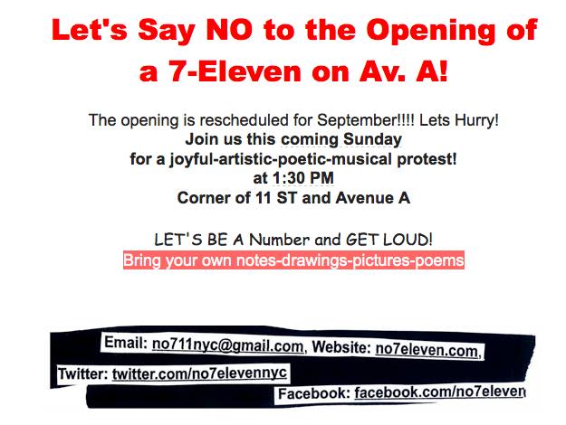 No 7-Eleven Rally