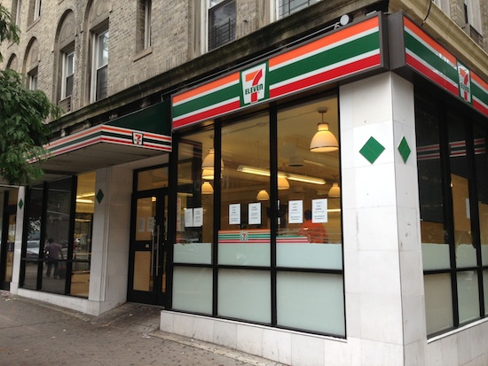 7-ELEVEN ON 93RD CLOSES SUDDENLY