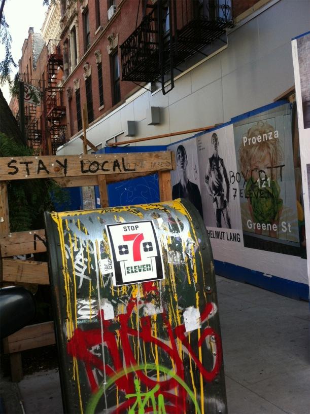 New York City Neighborhood Mocks 7-Eleven