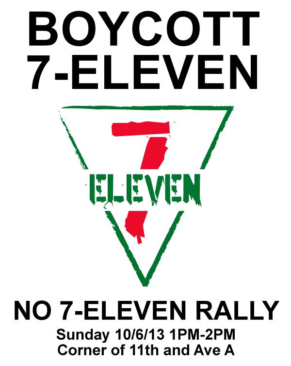 Boycott New York City 7-Elevens