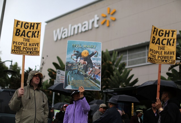 Low-Wage Workers' Movement Catches Fire