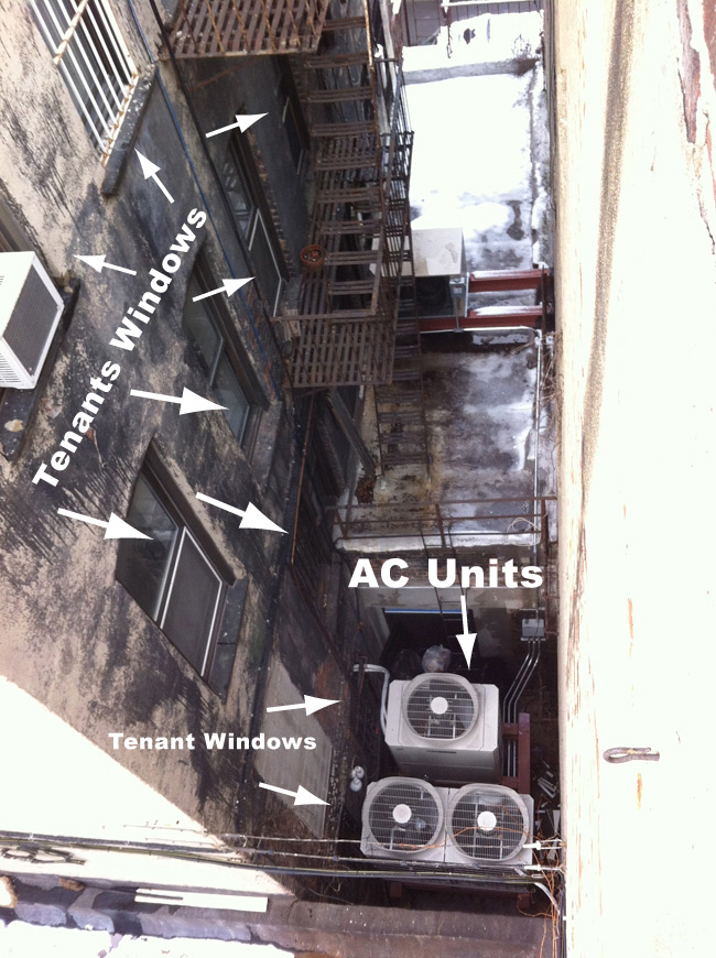 7-Eleven Westminster Illegal AC Units